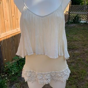 Beautiful gauze blouse by Love Sam